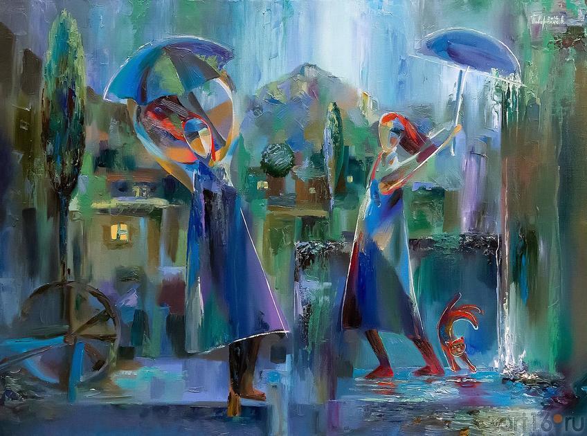 Фото №219930. Под дождем. Валерий Поваринис