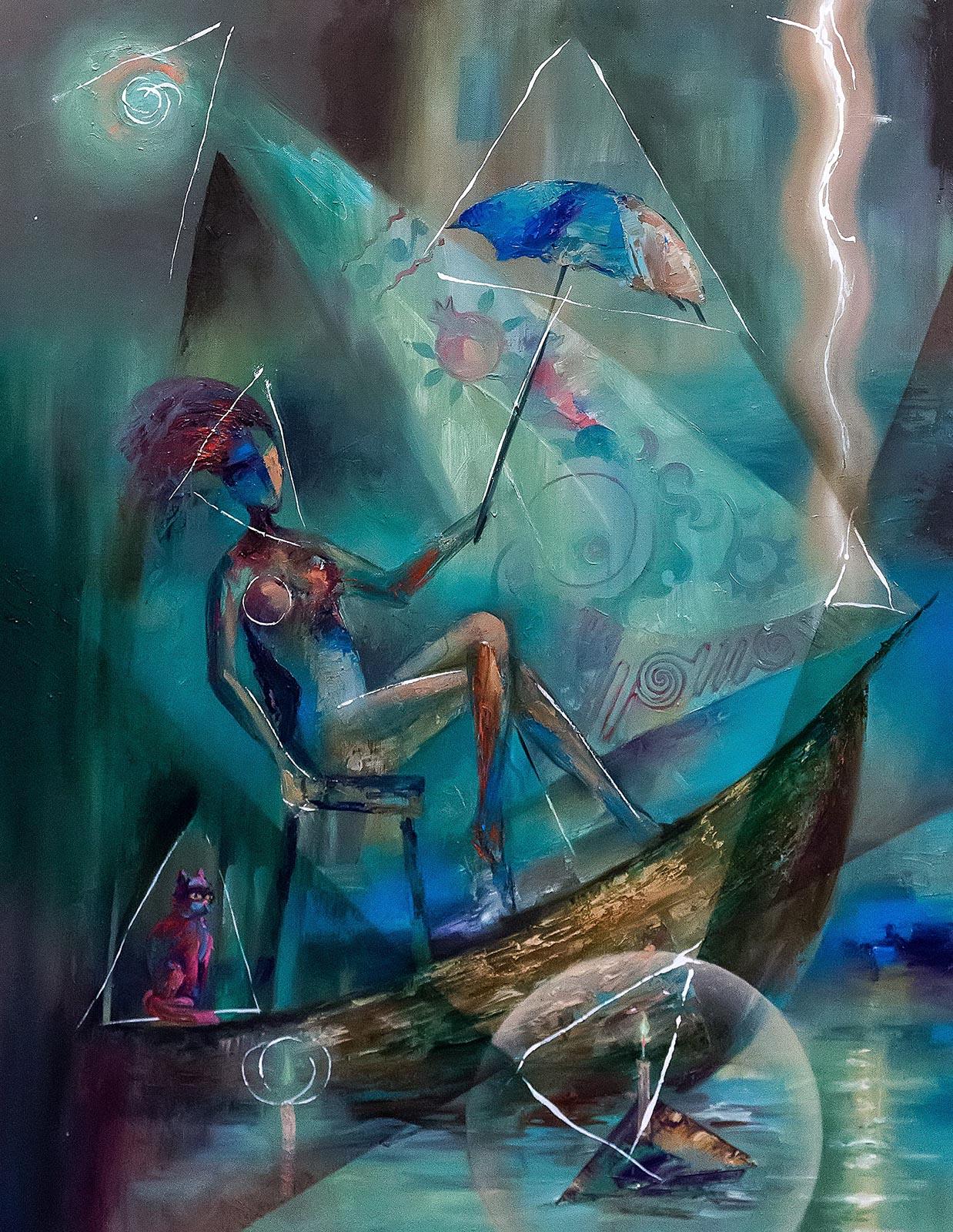 Фото №220002. Девушка с зонтиком. Валерий Поваринис