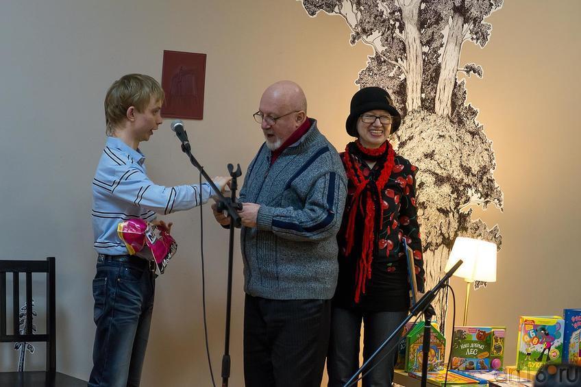 Фото №220523. Андрей Малов, Борис Вайнер, Наиля Ахунова