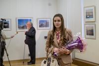 Перед открытием выставки Суюрова Ф.А.