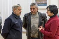 На открытии выставки Суюрова Ф. А.