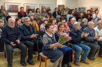 На открытии выставки Суюрова Ф.А.