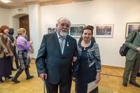 Фарид Абдрахманович Суюров с супругой