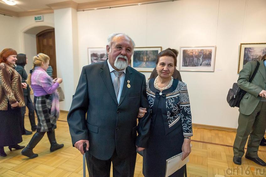 Фото №221448. Фарид Абдрахманович Суюров с супругой