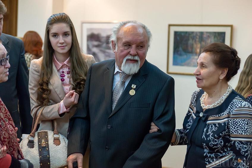 Фото №221460. Суюров Ф.А. с супругой