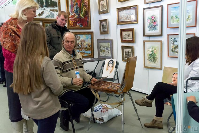 Бердников Юрий::«АРТ- галерея. Казань 2014»