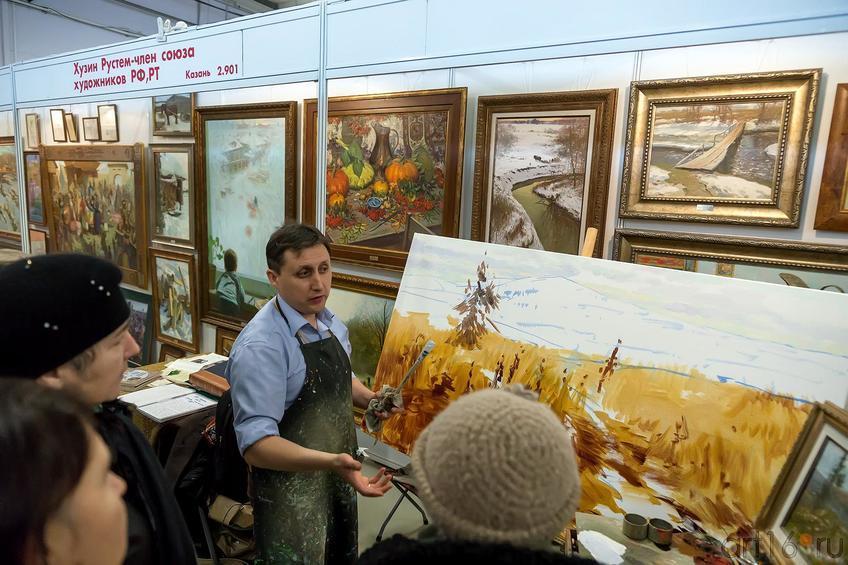 Рустем Хузин::«АРТ- галерея. Казань 2014»