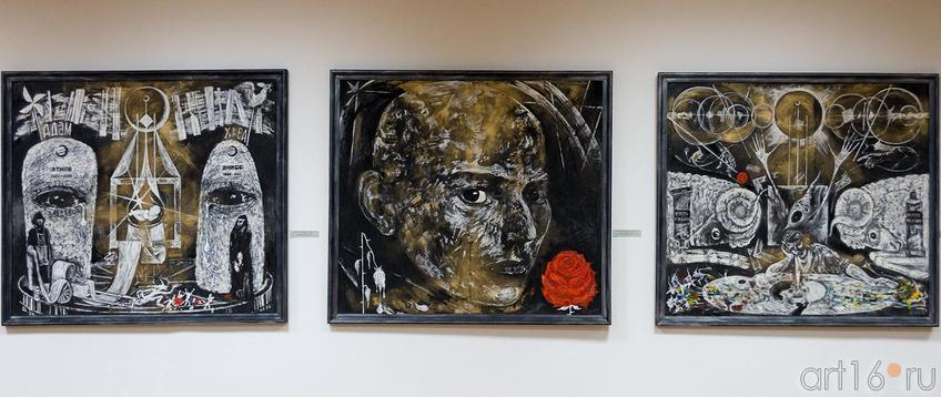 ТРИПТИХ «РЕКВИЕМ ПО ДУШЕ». 2011::Выставка претендентов на премию им. Б.Урманче
