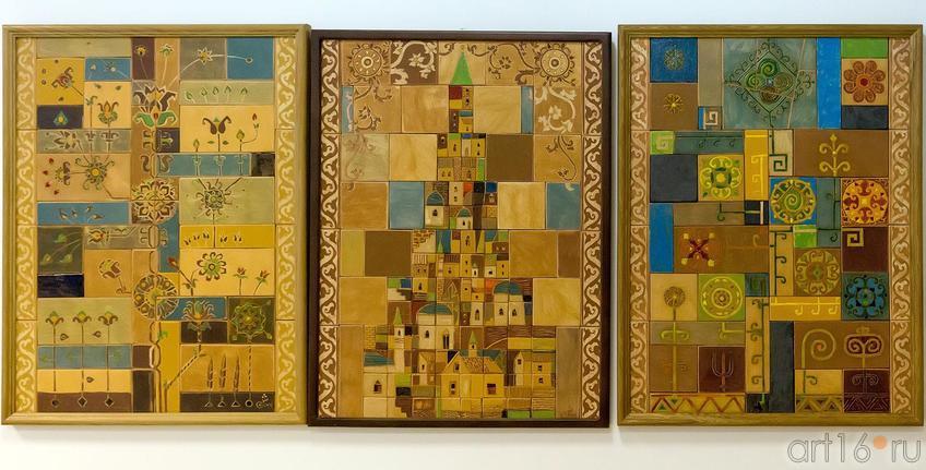 Триптих «БАШНЯ СЮЮМБЕКИ». 2012::Выставка претендентов на премию им. Б.Урманче