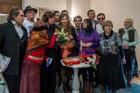 Фото с Абсалямовой и Урасиным   со зрителями
