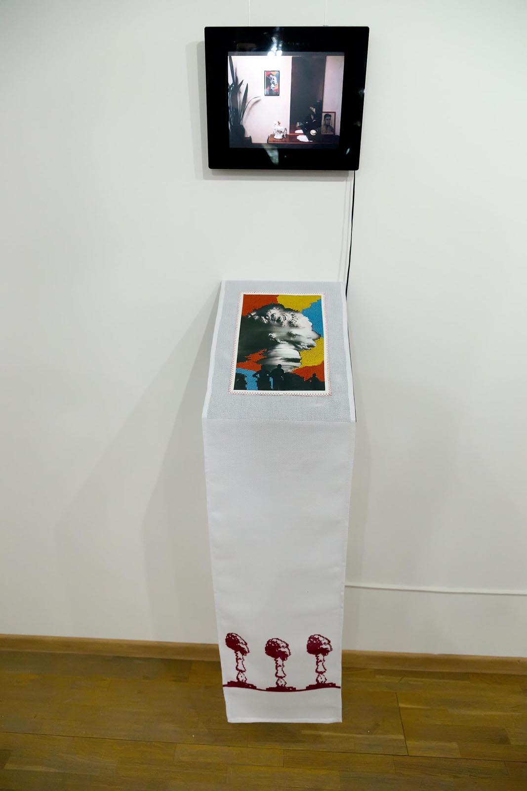 Фото №225652. МОСКВА-XVI или ВЫШИТЫЕ ДНИ. Андрей Суздалев.  Москва.  Инсталляция, 2014
