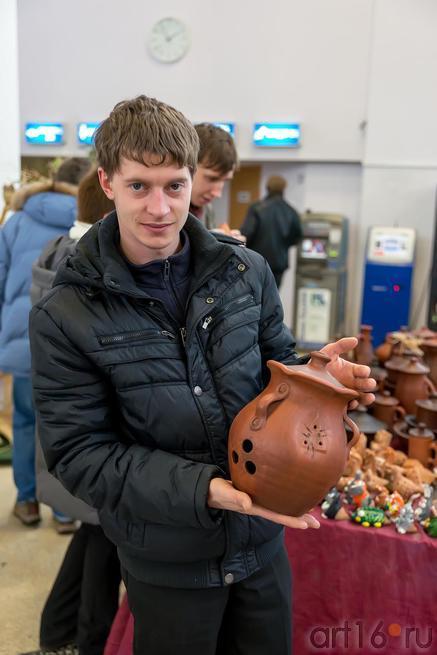 Учаев Николай г. Сызрань, гончар::«АРТ- галерея. Казань 2014»