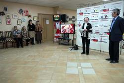 Открытие выставки НИИ
