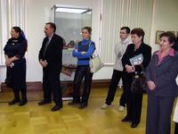 На открытии выставки Фариды Хасьяновой