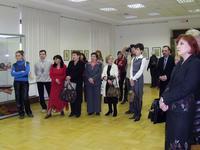 Церемония открытия выставки Ф. Хасьяновой