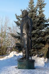Карл Фукс. Памятник в Казани