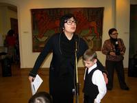 Р. Нургалеева приглашает на экскурсию по залам галереи