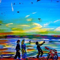 Красный велосипед. 2007. Лысяков В.Н.