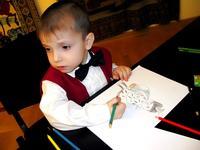 Удивительное сходство в рисунке юного художника