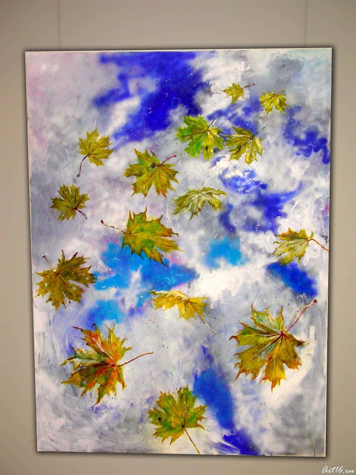 Фото №2403. Падающие листья. 2007. Лысяков В.Н.