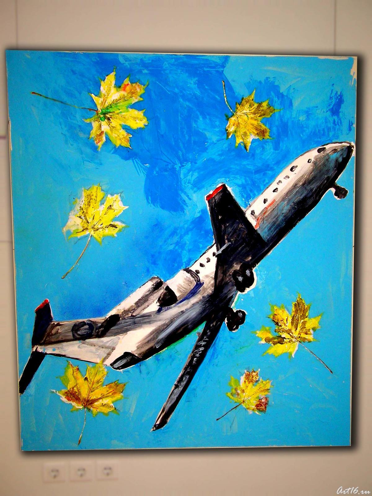Фото №2408. Самолёт. 2007. Лысяков В.Н.