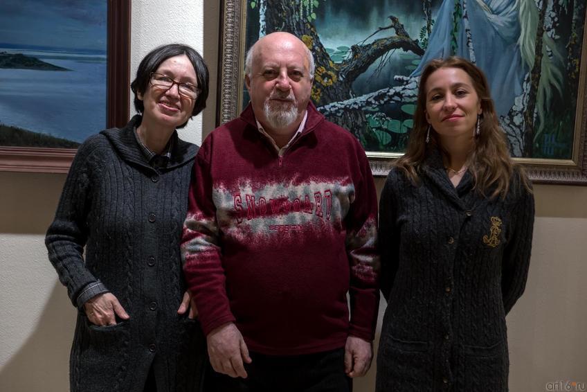 Фото №243039. Наиля Ахунова, Борис Вайнер, Вероника Чепегина