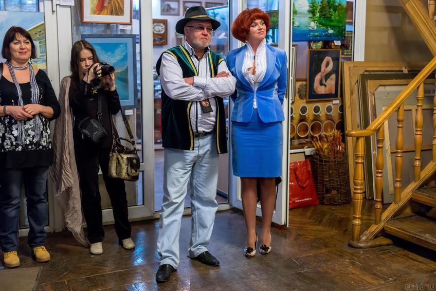 Ирек Ахметов::Летели гуси над Казанью. Выставка
