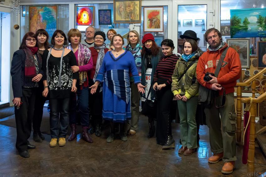 Фото №244853. «Летели гуси над Казанью». Открытие выставки