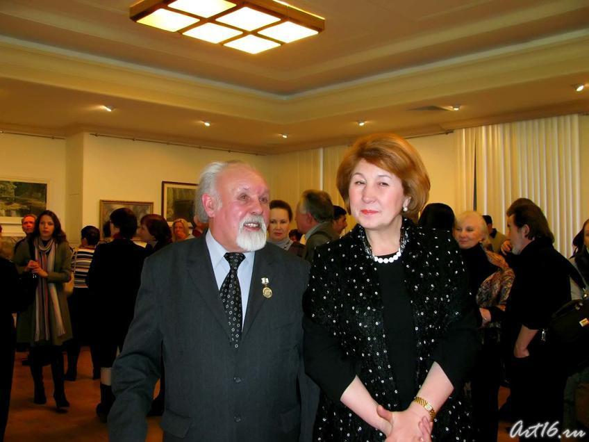 Фарид Суюров и Зиля Валеева