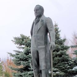 Памятник К.Фуксу. Казань 2008