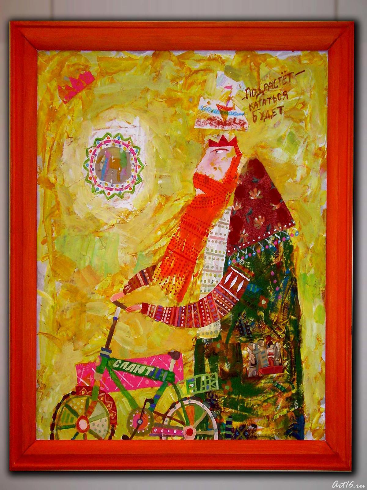Фото №2499. Покалёв Максим «Волхвы» 2007, триптих
