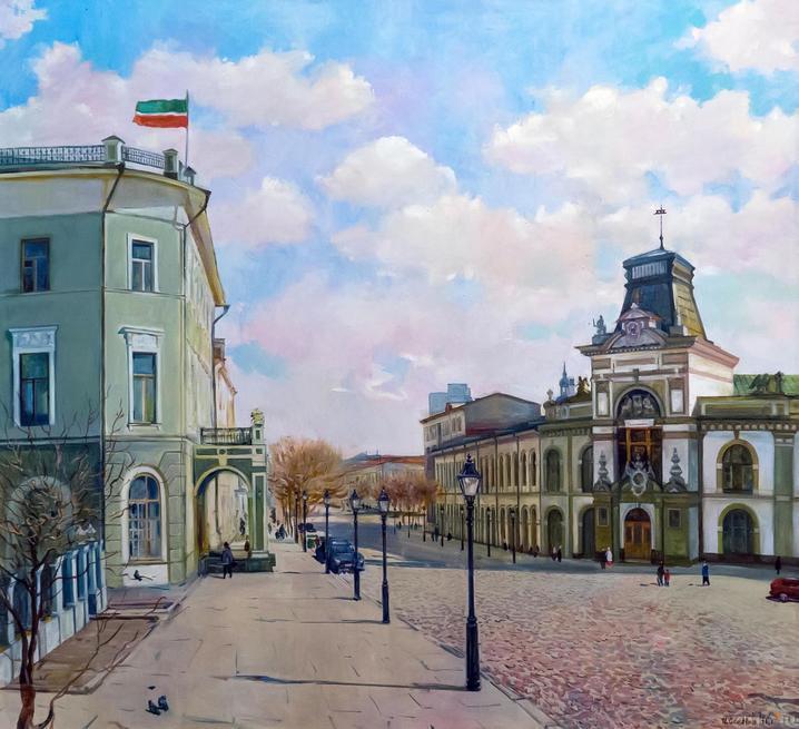 КРЕМЛЕВСКАЯ УЛИЦА. 2001::Выставка-продажа «Искусство Татарстана в олимпийском Сочи»