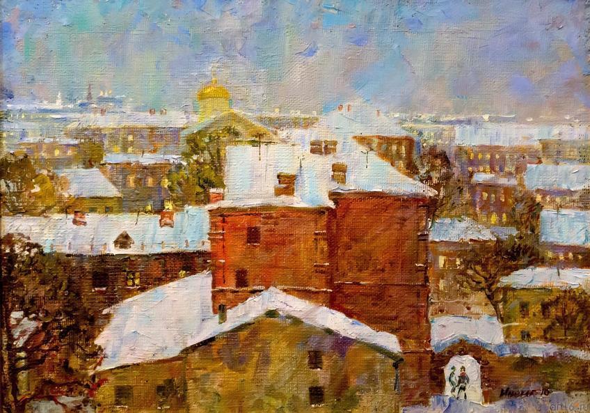 ГОЛУБОЙ ВЕЧЕР. 2010::Выставка-продажа «Искусство Татарстана в олимпийском Сочи»