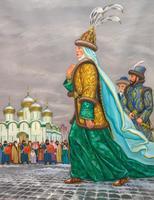 КАЗАНСКОЕ ХАНСТВО. ХАНША НУРСУЛТАН (? - 1518) В МОСКОВСКОМ КРЕМЛЕ. 2005