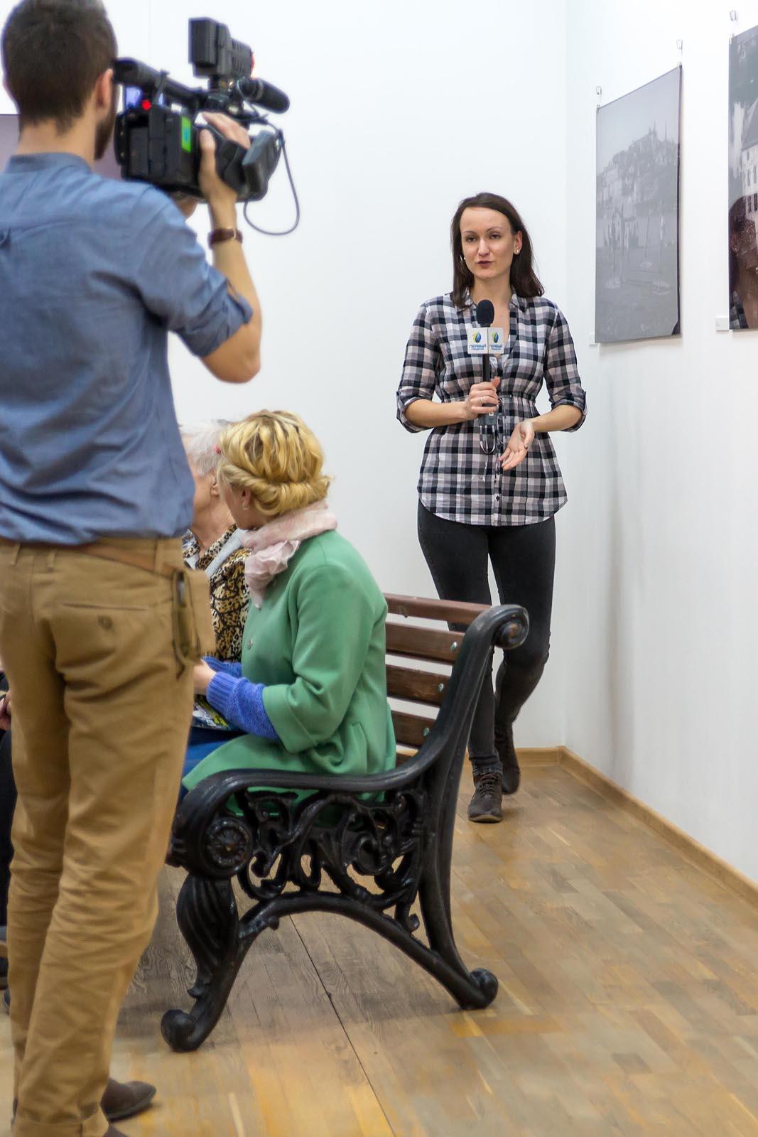 Фото №256173. Запись  ТВ с открытия выставки  «Bonjour, Paris!»