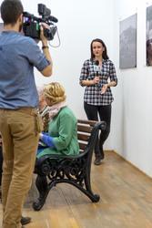 Запись  ТВ с открытия выставки  «Bonjour, Paris!»