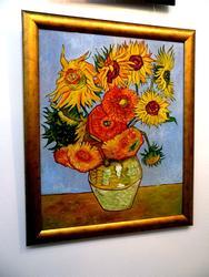Востребованная копия картины Винсента ван Гога. Творческая мастерская Союза Художников РТ