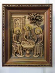 Икона, С. Большаков (резьба по дереву)