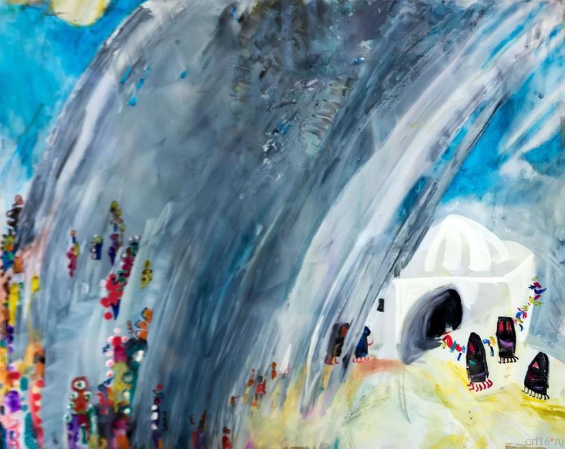 Дождь::«В поисках истины» Расим Бабаев. Живопись, графика