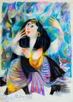 Женщина из миниатюр