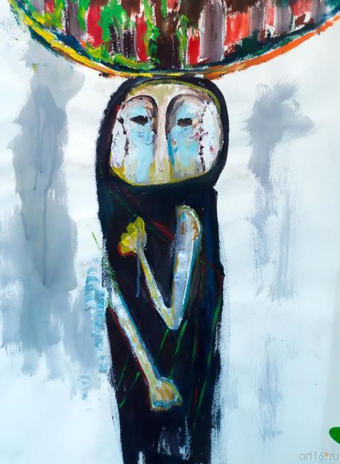 Женщина с узелком::«В поисках истины» Расим Бабаев. Живопись, графика