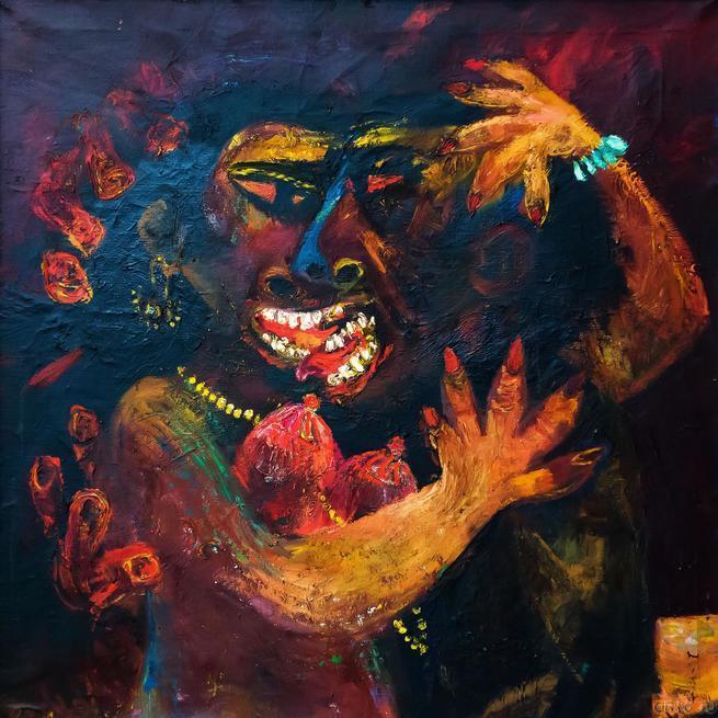 Любовь. 1982 г.::«В поисках истины» Расим Бабаев. Живопись, графика