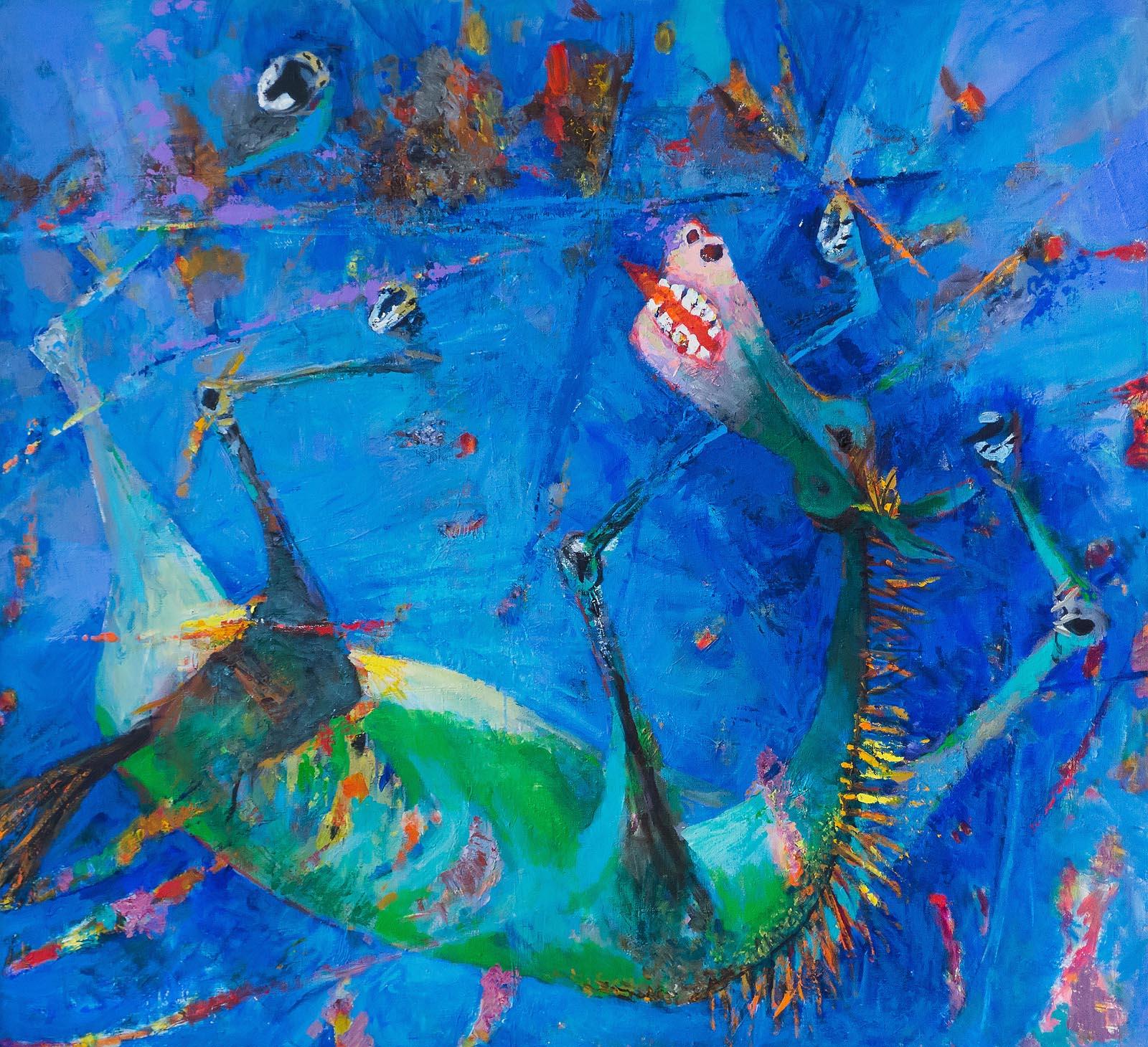 Фото №262370. Голубая лошадь. 2003 г.