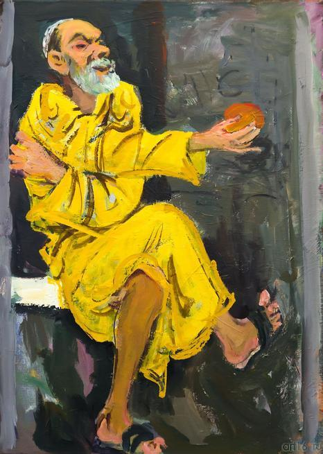 Автопортрет. 2005 г.::«В поисках истины» Расим Бабаев. Живопись, графика