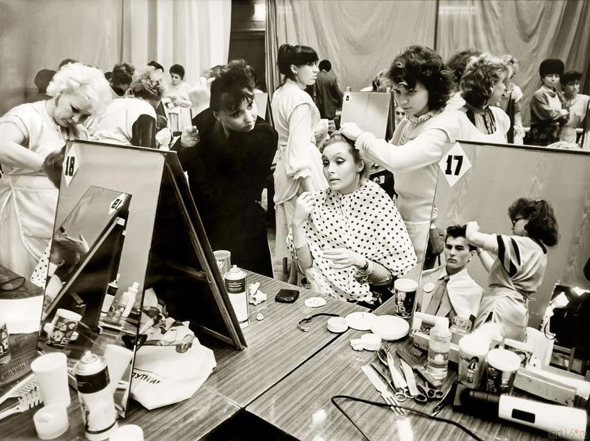 Фото №272425. В.Зотов. КОНКУРС ПАРИКМАХЕРОВ. Казань. 1986