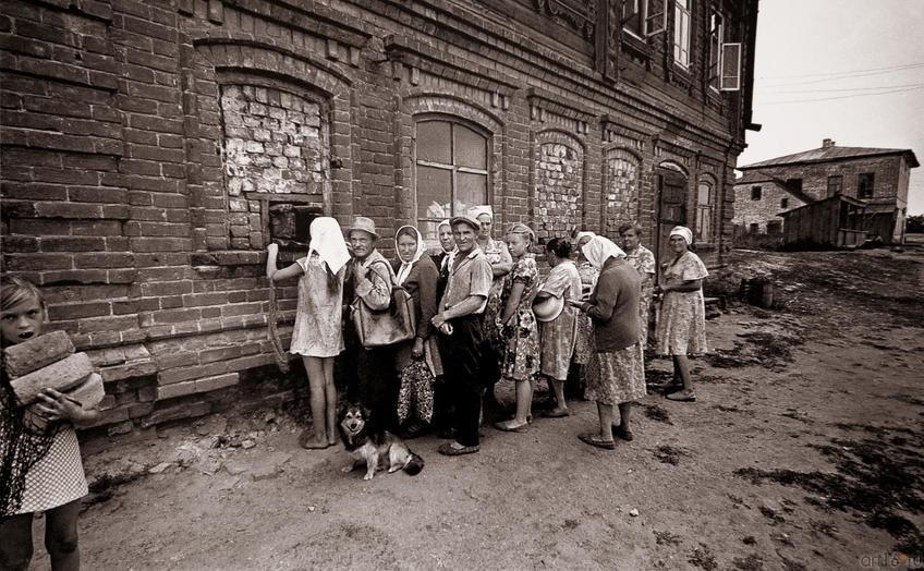 В.Зотов. ОСТРОВ СВИЯЖСК. ХЛЕБ. 1981::Владимир Зотов. Фотографии