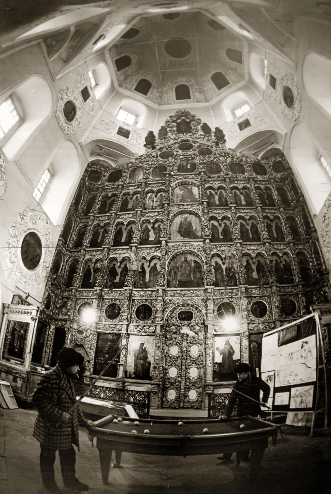 Фото №272554. В.Зотов. СОБОР ПЕТРА И ПАВЛА. Казань. 1983