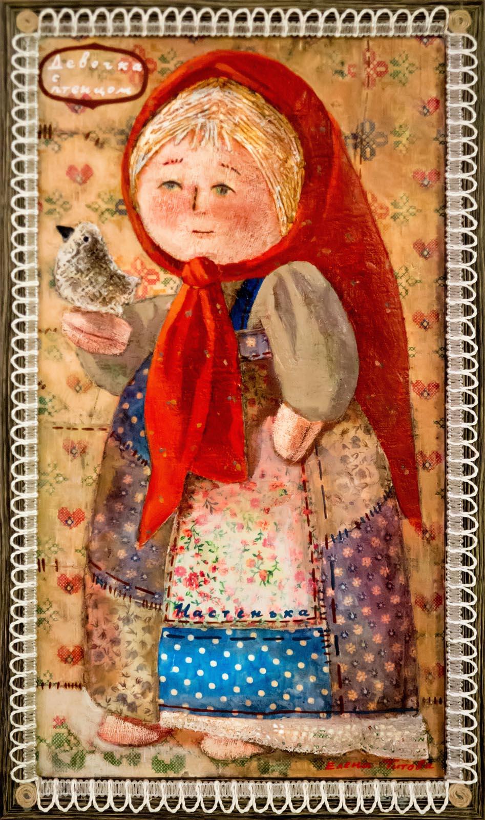 Фото №272761. Девочка - птенцом. Настенька. Автор: Елена Титова
