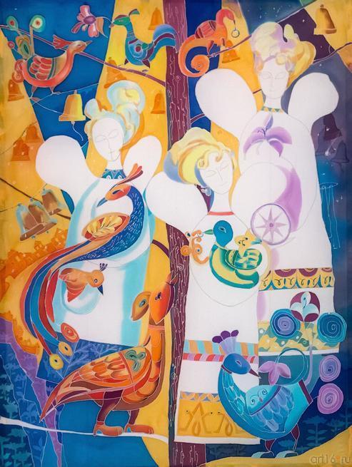 Ангелы и птицы. Автор: Галина Орлова::Выставка Благовест