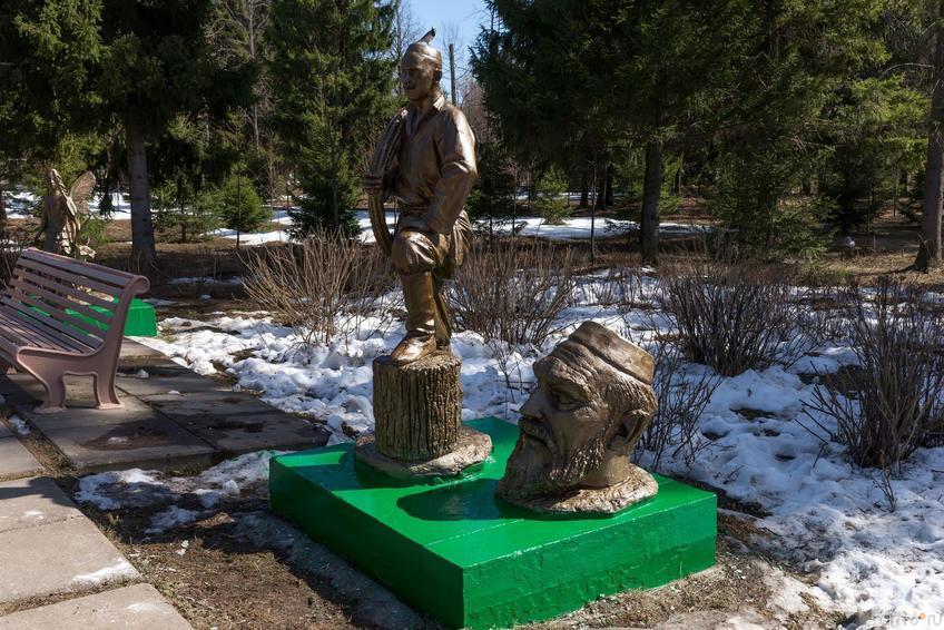 Фото №273383. Скульптурные композиции по мотивам произведений Г.Тукая